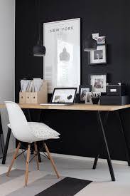 office black. Bois + Noir Blanc, Espace Bureau épuré - Les Cachotières Office Black