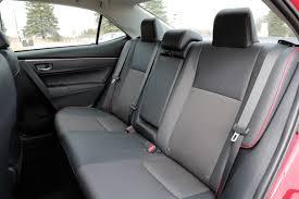 toyota corolla 2015 interior seats. 2015toyotacorollarearseats toyota corolla 2015 interior seats