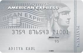 Platinum Travel Credit Card American Express India