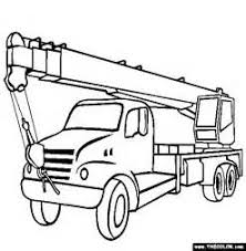 boom truck coloring page free boom truck online coloring 24 trucks and cars easy to make monster truck coloring sheets truck on jacked up truck coloring pages