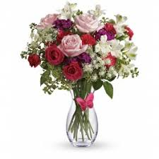 pink erfly bouquet by teleflora
