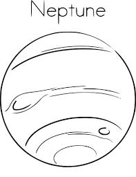 Coloriage De La Plan Te Neptune Imprimer Sur Coloriage De Com