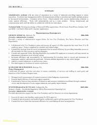 Entry Level Administrative Assistant Resume Fresh Litigation ...