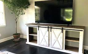 barn door media center. Barn Door Media Center Sliding Hardware For Console Kitchen Nightmares Downcity Rustic M