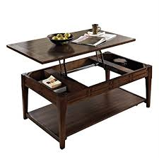 steve silver crestline lift top tail table with casters