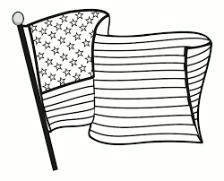 Great American Flag Coloring Page | Flags Coloring pages of ...