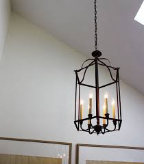 outstanding faux candle chandelier candle chandelier iron chandelier with 6 light white wall