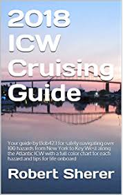 Icw Mileage Chart Amazon Com Intracoastal Waterway Chartbook Norfolk To Miami