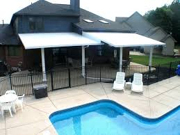 covered patio covers on design diy aluminum cover kits full size