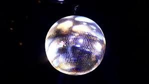 disco ball in night club hd stock clip