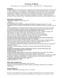 Sample Resume Of Store Manager Grocery Store Manager Free Resumes Free Resumes