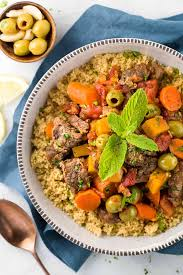 Lamb Stew Recipe Moroccan Lamb Stew Recipe With Couscous Jessica Gavin