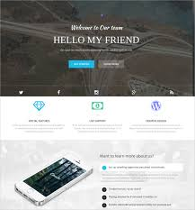 19 One Page Website Themes Templates Free Premium Templates
