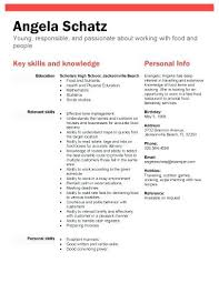 Resume For High School Student First Job Best of Resume For High School Students With No Job Experience Samples Of