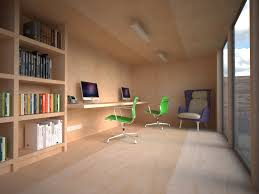 garden office designs interior ideas. a pared down look can be created using plywood sheets garden office designs interior ideas r
