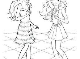 Barbie Coloring Pages Fashion Dr Up Coloring Pages Barbie Colouring