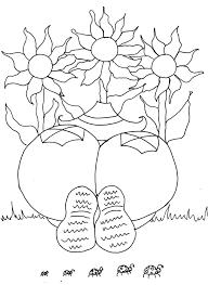 Sunflower Gardener Girl Funny Adult Coloring