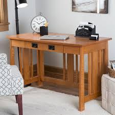 belham living everett mission writing desk with optional hutch desks at hayneedle idea interior design