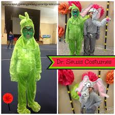 dr seuss the grinch and horton costumes collage