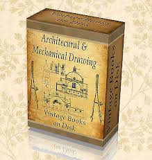 230 vine books architectural mechanical technical drawing design old art 273