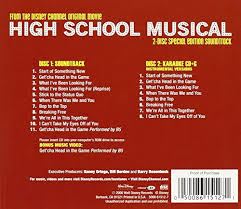 Cd Song List Various Composers Zac Efron Vanessa Anne Hudgens Ashley Tisdale