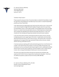 letter of recommendation for athletic training program letter of recommendation for athletic training program
