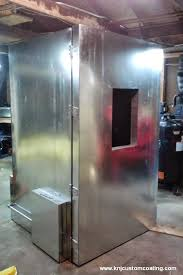 building powder coating oven