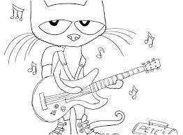 Pete The Cat Coloring Pages Pete The Cat White Shoes Coloring Pages