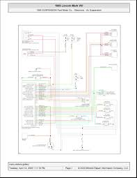 lincoln mark viii electronic air suspension wiring 1995 lincoln mark viii electronic air suspension wiring schematic