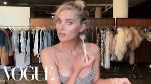 elsa hosk unveils the victoria s secret fantasy bra her angel makeup look beauty secrets