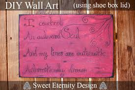so i ve seen plenty versions of the puff paint on canvas craft the project guide i based mine off of is by virginia over at virginia charlie  on diy shoebox wall art with shoe box to wall art cheap crafty d i y sweet eternity design