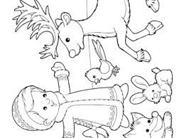 Winter Snow Scene Coloring Page Coloring Pages Snow Scene Coloring