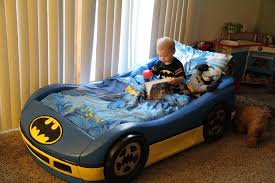 Great Toddlers For Plastic Frame In Blue And And Yellow Colorideas Batman Car  Beds Together With