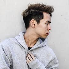 外国人風オールバックアップバング メンズヘアスタイル髪型 Hair