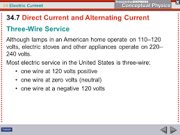 alternating current examples appliances. 34 electric current three-wire service although lamps in an american home operate on 110 alternating examples appliances