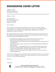 Engineering Jobs Cover Letter 10 Cover Letter For Engineering Jobs Cover Letter