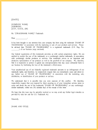 Cease and Desist Template Trademark