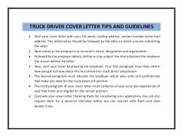 Delivery Driver Cover Letter Sample   LiveCareer SlideShare