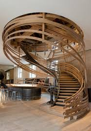 General: Dramatic Black Stairs - Staircase Design