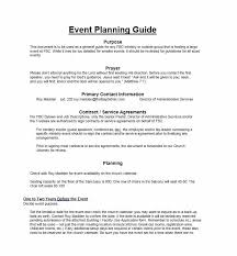 Event Planning Services Agreement 50 Professional Event Planning Checklist Templates