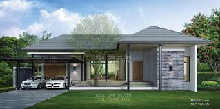 Resort Floor Plans  Single Story House Plans  bedrooms     Building Service in Thailand  Home Builder floor  Modern Tropical Resort Style House   permission for construction in Thailand  living space sq m