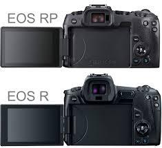 Canon Eos System Chart Canon Eos Rp Vs Eos R
