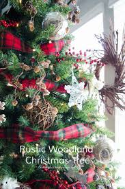 Rustic Christmas Decorations Best 20 Rustic Christmas Trees Ideas On Pinterest Rustic