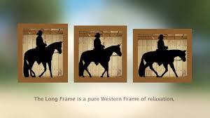 cowboy dressage gaits and frames
