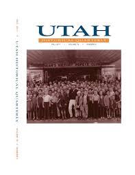 Duncan Lighting Kaysville Ut Utah Historical Quarterly Volume 79 Number 4 2011 By Utah