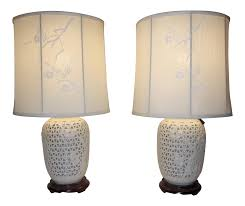home ideas proven blanc de chine lamp pair of monumental pierced table lamps at 1stdibs