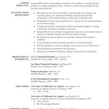 Resume Samples Nurse Free Sample Nursing School Template Of For 43a