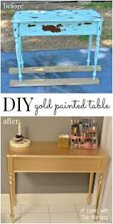 spray paint furnitureBest 25 Gold painted furniture ideas on Pinterest  Gold