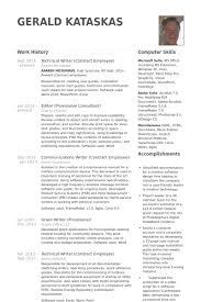 Technical Writer Resume Samples Visualcv Resume Samples Database