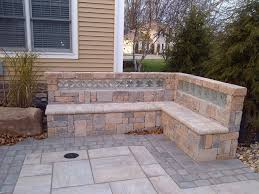 glass block in landscaping traditional garden